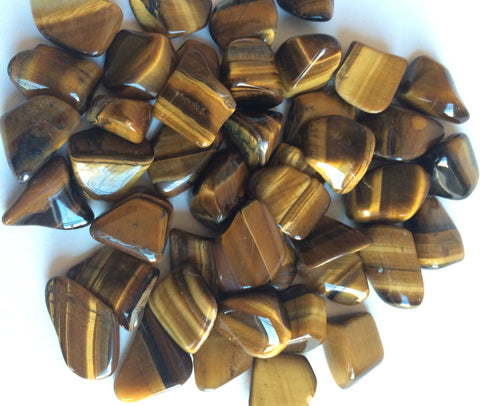 TUMBLED GEMSTONES - Tiger Eye