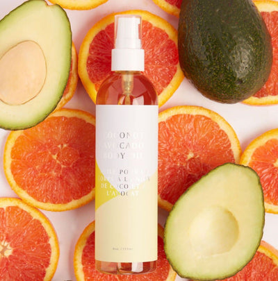 COCONUT AVOCADO BODY OIL
