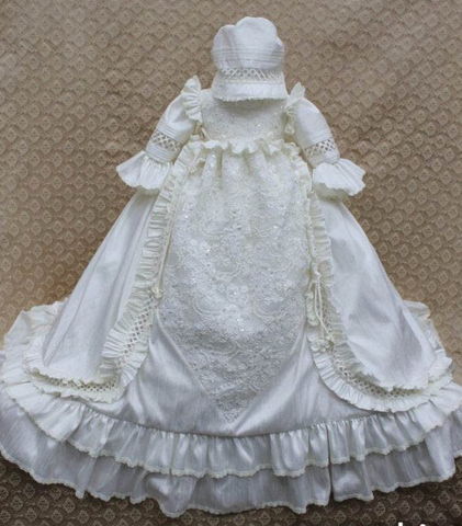Mia Christening Gown