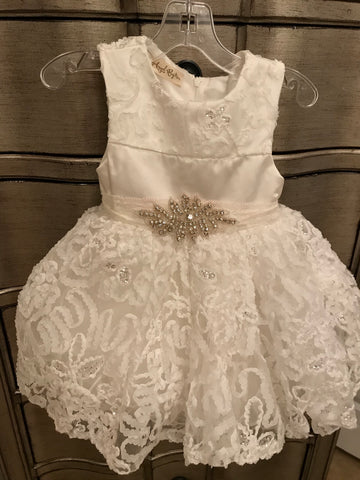Short Baptism Dress