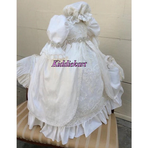 The Catherine Christening Gown with Bonnet
