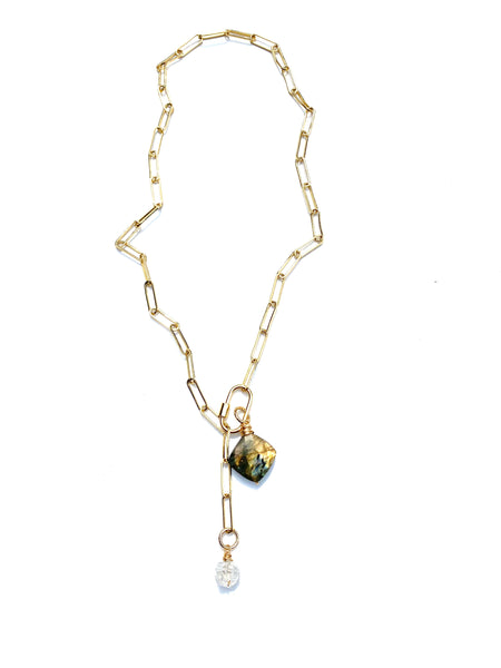 Screw-Clasp Necklace