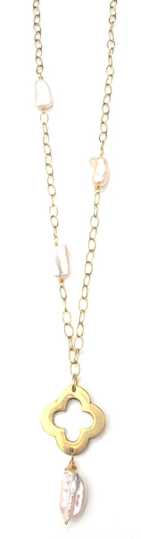 Lycka Necklace - Freshwater Pearl