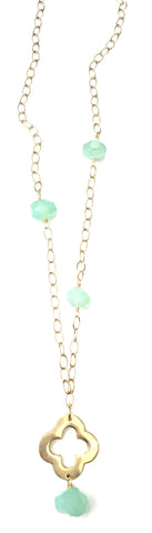 Lycka Necklace - Chalcedony