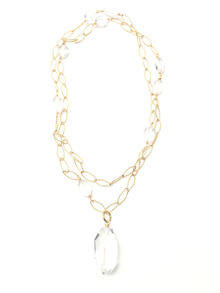 Magia Necklace - Quartz