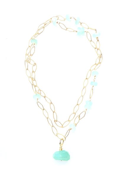 Magia Necklace - Chalcedony