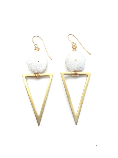 Triangle Power Earring