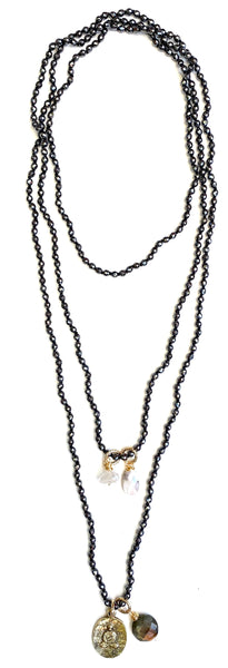 Shakti Necklace- Hematite