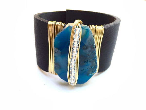Midnight Blue Cuff