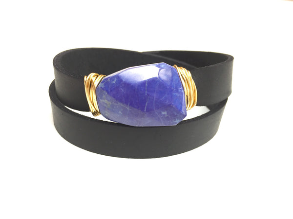 Rich Lapis Wrap