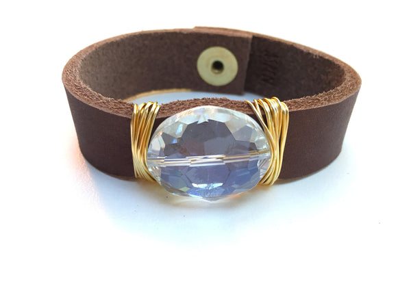 Small Leather Cuff