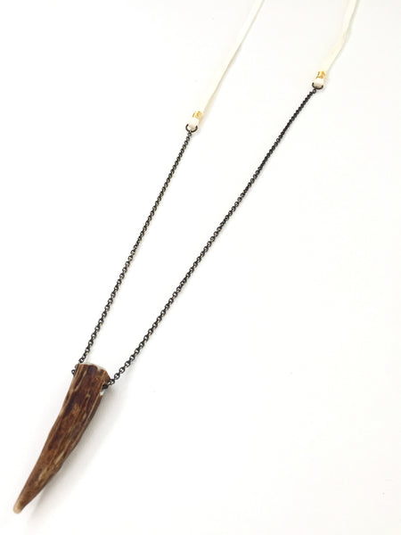 Classic Antler Tip Necklace