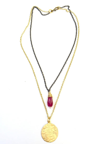 Lusty Red Necklace- Short