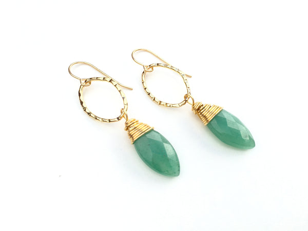 Forest Drop Earrings