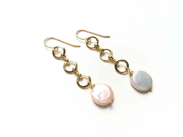 Pearly Strand Earrings