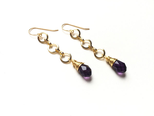 Lavender Strand Earrings