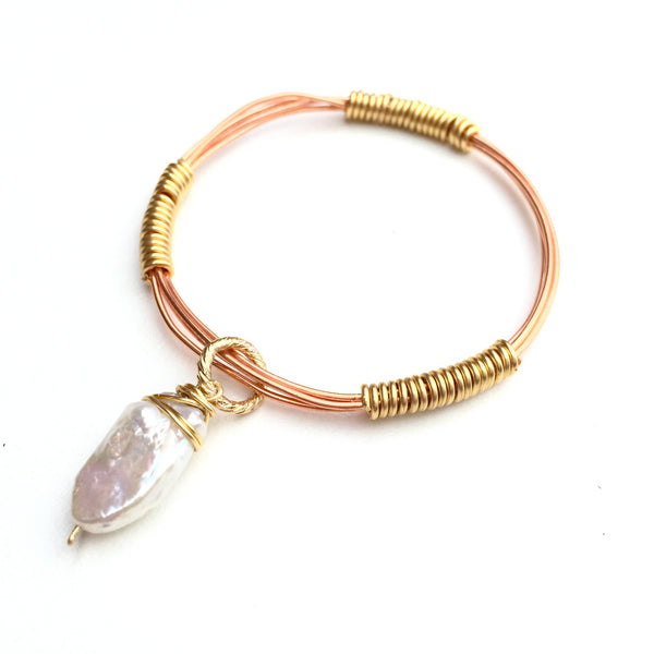 Rose Wire Bangle