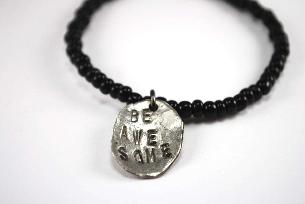 """Be Awe-some"" Bracelet"
