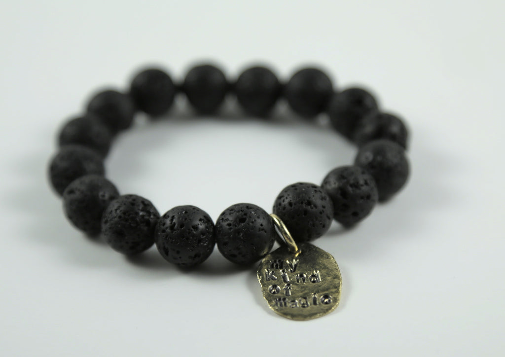"""My Kind Of Magic"" Lava Bracelet"