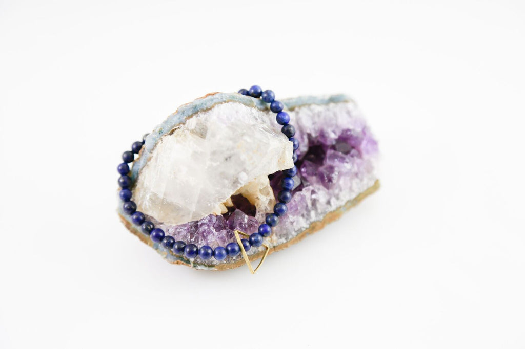 Elements Of Nature Lapis Bracelet