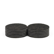 "3"" Diameter Heavy Duty Felt Pads - 12 Pieces"