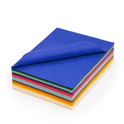 "Acrylic Craft Felt Assorted Sheets - 9"" Wide x 12"" Long"