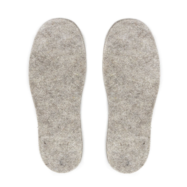 Felted Alpaca Insoles - 8mm Thick