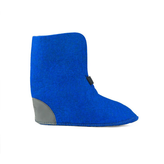 Wool Felt Replacement Boot Liners (626) - Royal Blue - FINAL SALE