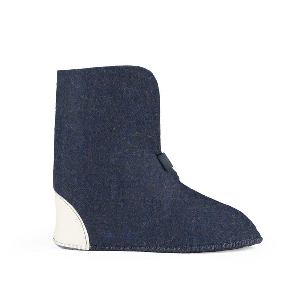 Wool Felt Replacement Boot Liners (626) - Navy Blue - FINAL SALE