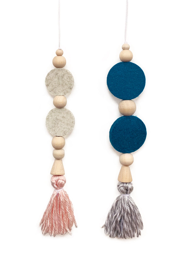 Wool Felt Diffusers - 2 Pieces