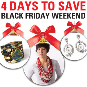 4 Days to Save - Black Friday Weekend