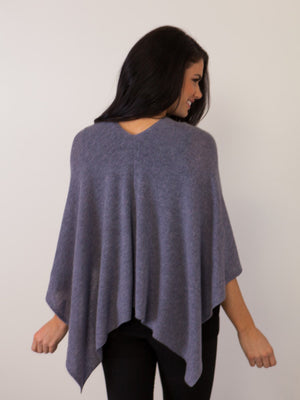 "Cashmere ""The"" Dress Topper - Midnight"