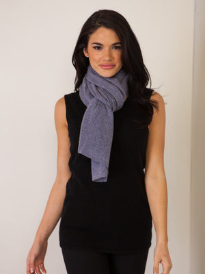 "Cashmere ""The"" Dress Topper - Graphite"