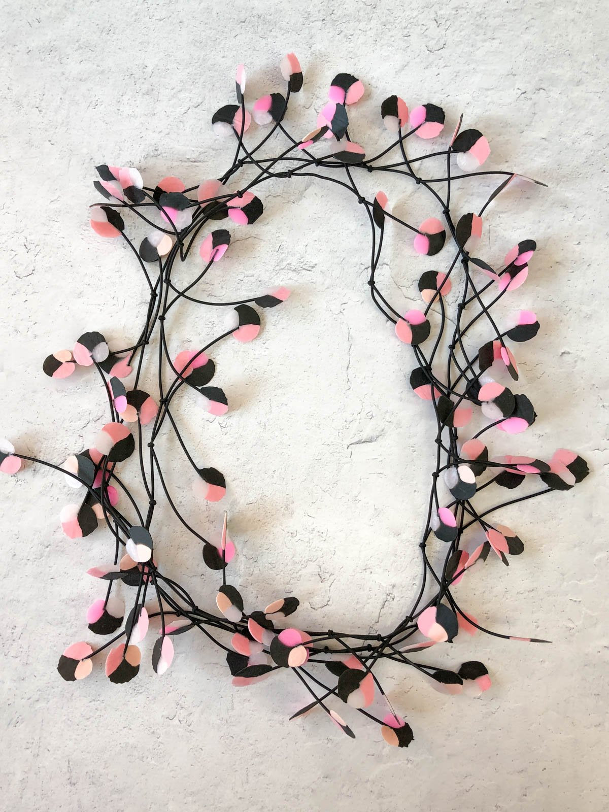 Ekeimenna By Annemieke Broenink - Recycled Wildflower Necklace - Blush Pink