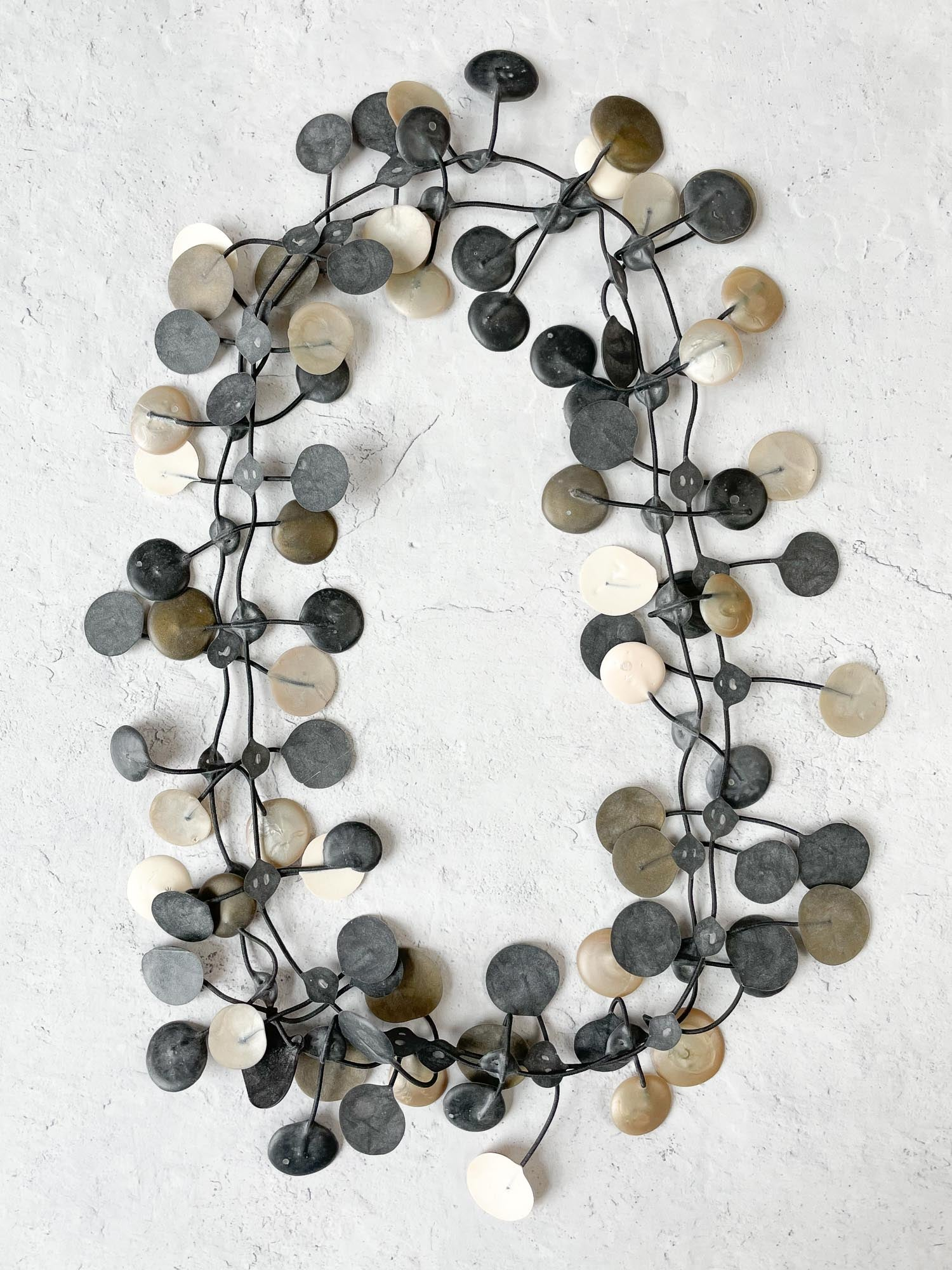 Annemieke Broenink Pop Necklace, Neutral