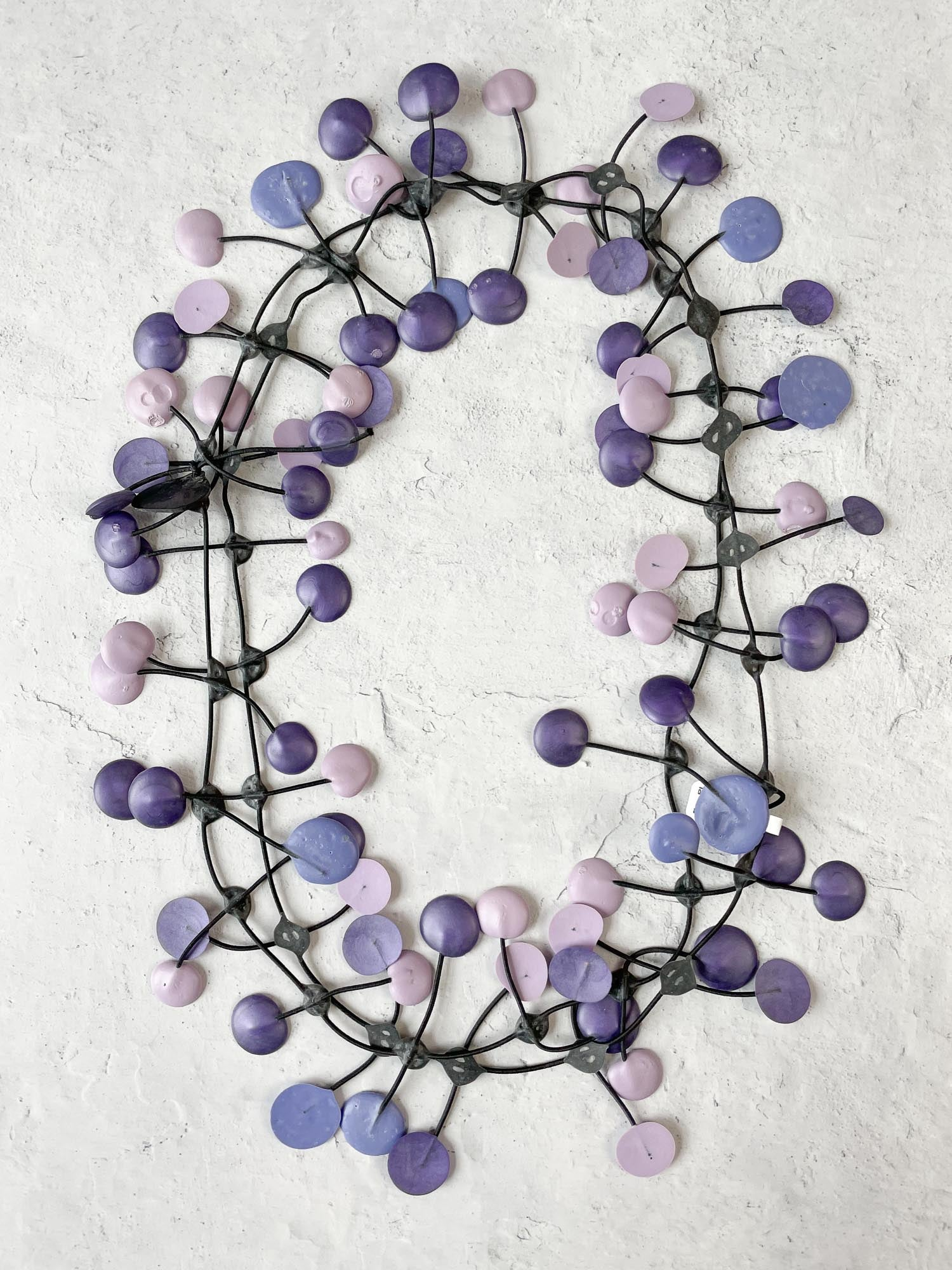 Annemieke Broenink Pop Necklace, Violet