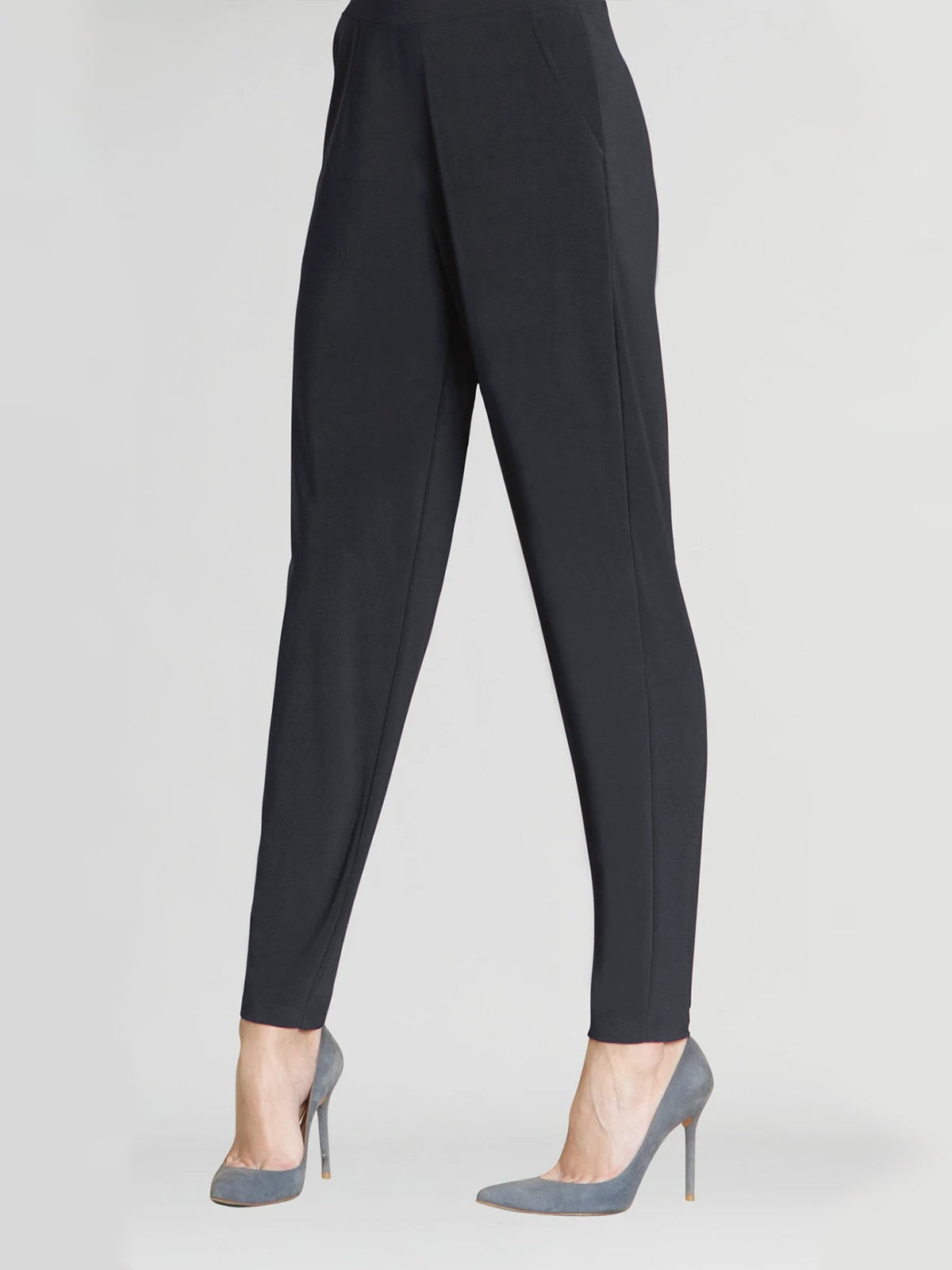 Clara Sunwoo Loose Narrow Hem Jogger Pant, Black - Statement Boutique