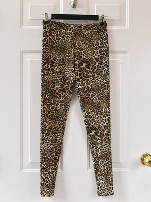 Comfy USA - Extra Long Legging - Sweater Leopard