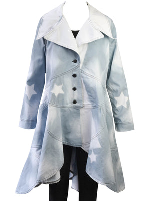 Cynthia Ashby Passage Jacket, Blue Stencil - Statement Boutique