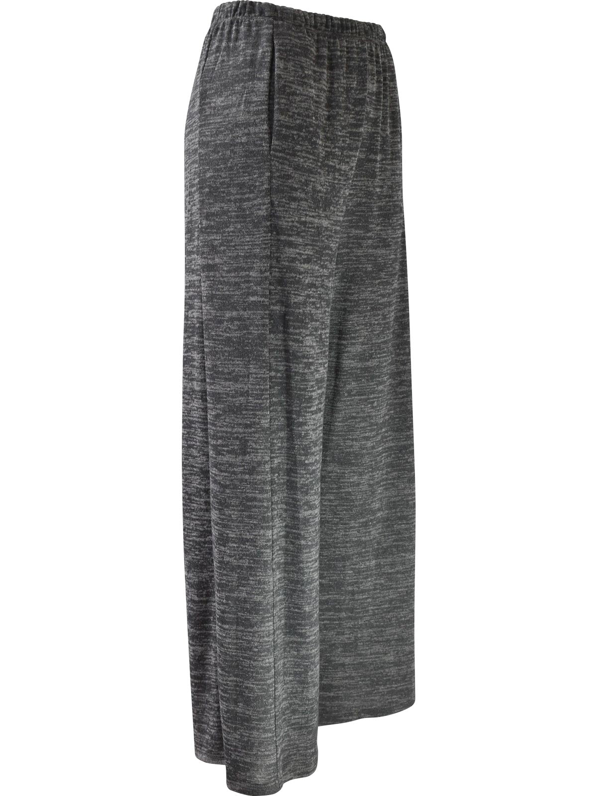 Khangura Straight Palazzo Pants, Charcoal - Statement Boutique