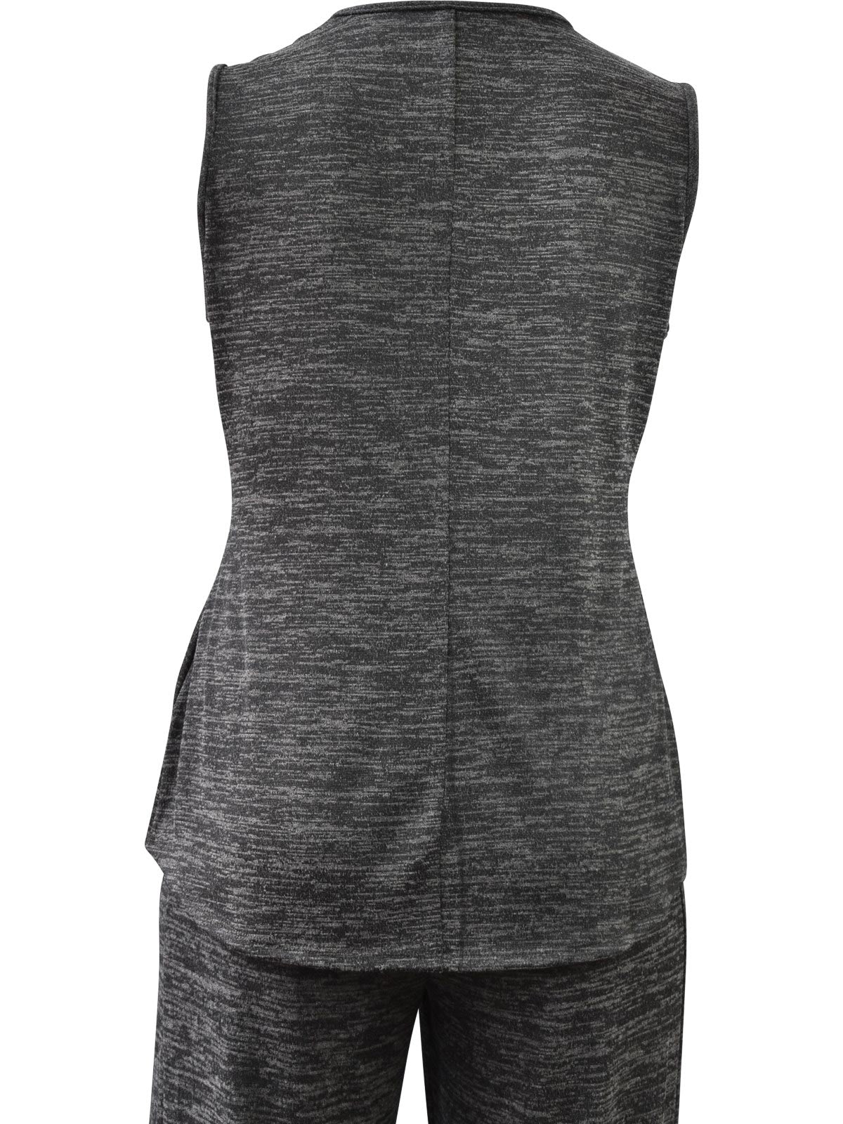 Khangura Tank Top, Charcoal - Statement Boutique