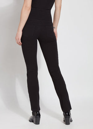 Lysse Denim Straight Leg - Black - Statement Boutique