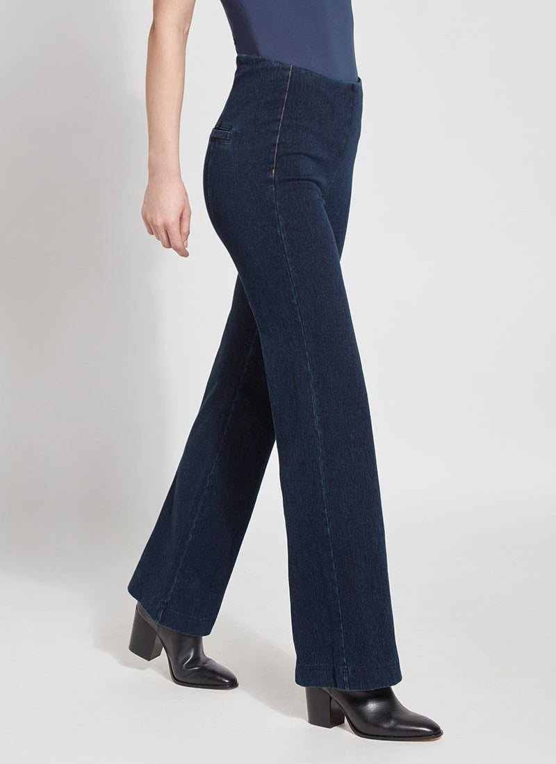 Lysse Denim Trouser, Indigo