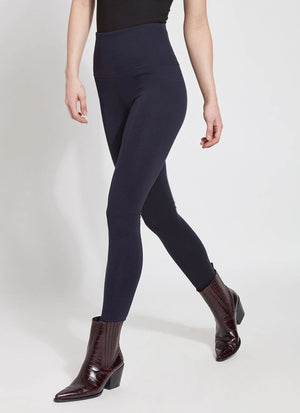 Lysse Ponte Signature Center Seam Legging, Midnight - Statement Boutique