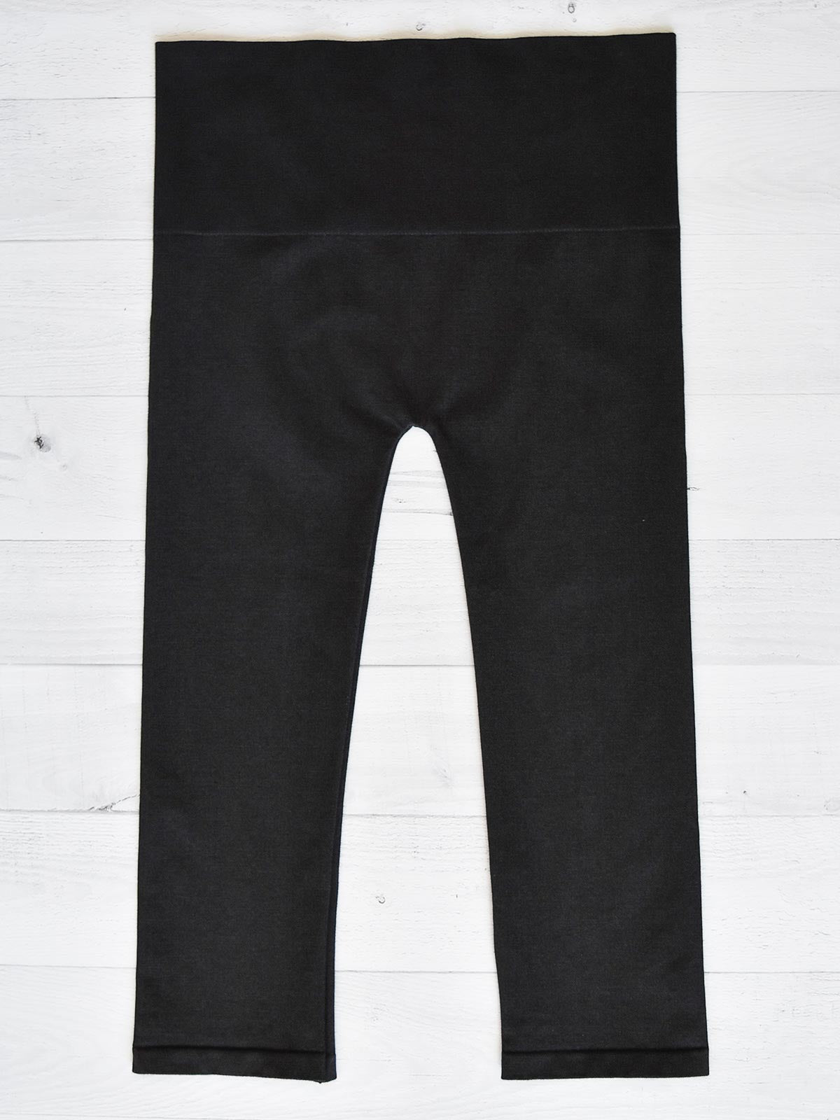 M. Rena High Waist Cropped Denim Legging Plus, Black - Statement Boutique
