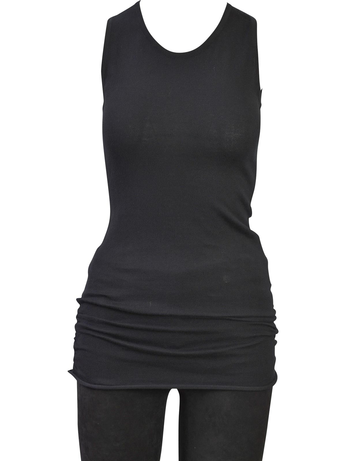 Planet by Lauren G Luxury Tank Top, Black