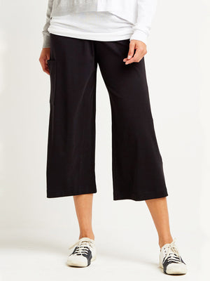 Planet Gaucho Pants, Black - Statement Boutique