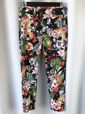 Robell - Rose Crop Pant - Tiger Floral