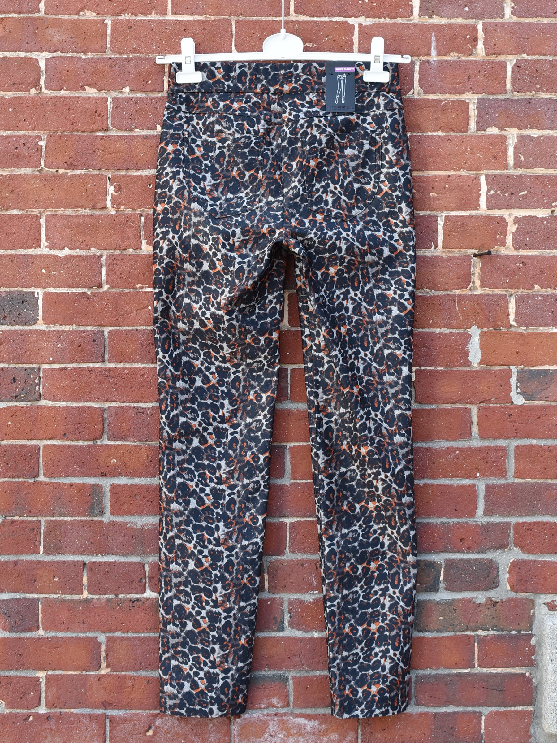 Robell Rose Pant - Leopard - Statement Boutique