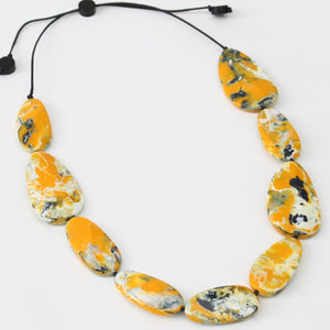 Sylca Designs Holly Necklace, Amber - Statement Boutique